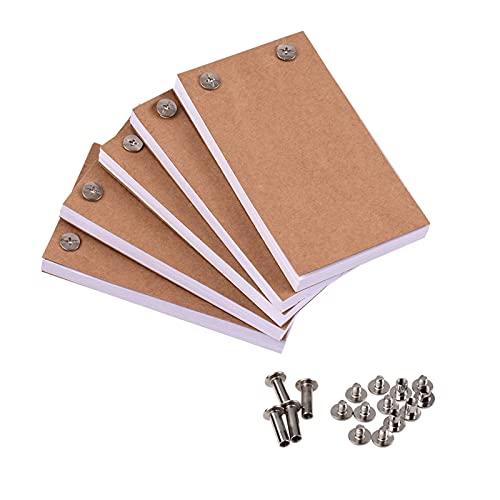 LVTONG zeichenbuch 300 Blätter Animationspapier Flipbook-Bindeschrauben mit leerem Flip-Buch-Kit für LED-Tracing-Lichtpolster Zeichnung Skizzieren von Cartoon a4 zeichenbuch
