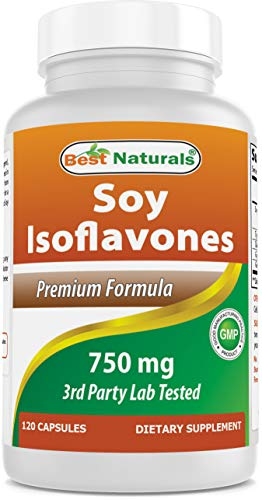 Best Naturals Best Naturals Soy Isoflavones for Women 750 Mg Capsules, 120 Count
