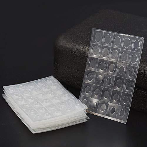 Amorar 5 Stck Maniküre Werkzeug Edelsteinform Transparente Kunststoffplatten Nagel Edelstein Aufkleber Nagelkunst Zubehör Nail Art Dekoration EINWEG Verpackung