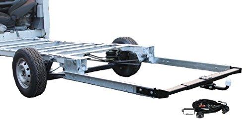 Anhängerkupplung AHK 12,5kN für Wohnmobile / Reisemobile inkl. Rahmenverlängerung Fiat Ducato X250 und Elektrokabelsatz ZFA250