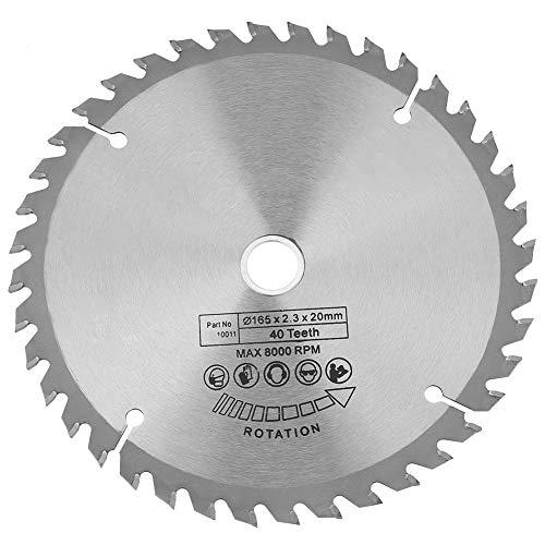 Broco zaagbladen roterend gereedschap, cirkelzaag 165mm x 20mm 40 tanden diamant cirkelzaag houtbewerking roterende gereedschap snijden schijf