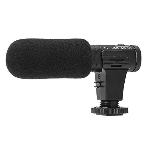 Redxiao Praktische Kondensatormikrofonfotografie Mikrofon Dauerhafte stabile Leistung Hohe Zuverlässigkeit für alle Arten von digitalen Geräten im Außen- und Innenbereich auf dem Markt