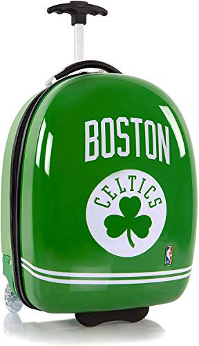 Heys America National Basketball Association Officially Licensed Wheeled Luggage (Boston Celtics, 18-Inch)