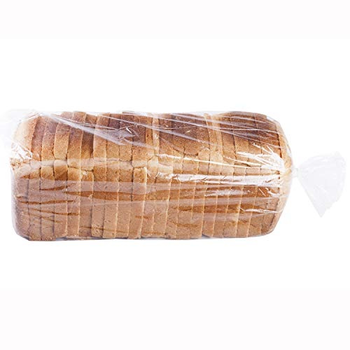 Extra Large Bread Poly Bags,50 Pcs 24x8x12 Inch Bread Loaf Packing Bags with 50 Free Twist Ties,Clear Thick Gussted Grocery Bakery Bags for Homemade Bread