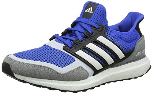 adidas Ultraboost S&l, Zapatillas de Running para Hombre, Azul (Blue/FTWR White/Grey Three F17 Blue/FTWR White/Grey Three F17), 43 1/3 EU