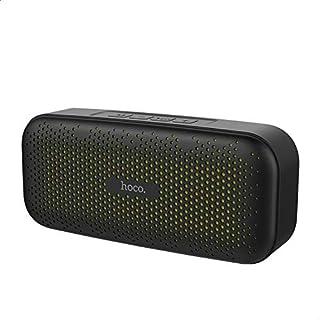 Hoco BS23 Elegant Rhyme Wireless Speaker, 1200 mAh - Black