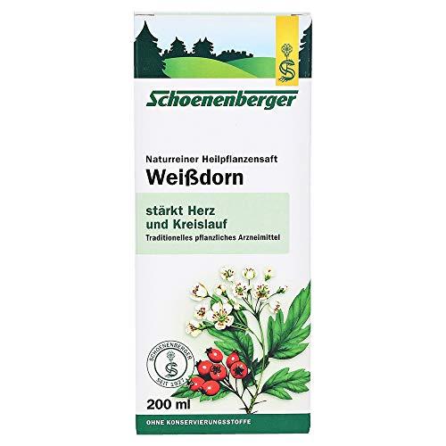 Weißdorn Saft Schoenenberger, 200 ml