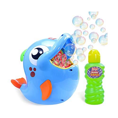 SJYSD-Bath Mat Máquina de Burbujas | Soplador de Burbujas automático y Duradero para niños | 500 Burbujas por Minuto | Al Aire Libre/Interior Fiesta Cumpleaños Boda