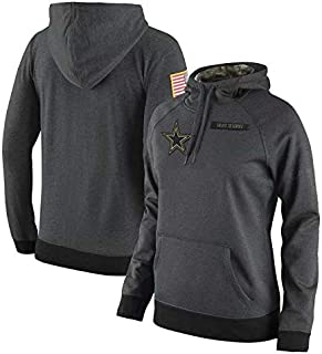 Dunbrooke Apparel Dallas Cowboys Salute to Service Anthracite Hoodie for Men Women