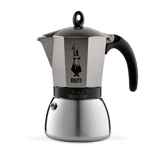 Bialetti Moka Induction Cafetiere 9t-Anthracite