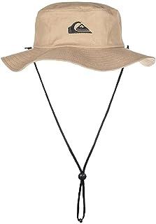 Quiksilver Men's Bushmaster Sun Protection Floppy Visor Bucket Hat, Khaki, Large-X-Large