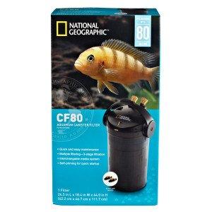 NATIONAL GEOGRAPHIC CF80 Aquarium Canister Filter