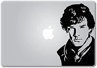 Sherlock Holmes Apple Macbook Decal Vinyl Sticker Apple Mac Air Pro Retina Laptop sticker