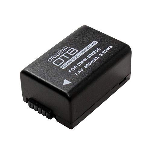 OTB Acumulador, Batería 800mAh para Panasonic Lumix DC-FZ82, subsituye: Panasonic DMW-BMB9E;