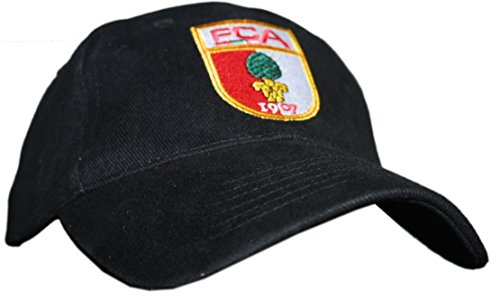 Do You Football FC Augsburg Bundesliga Fan Cap für Kids Schwarz FCA von Aktivhandel