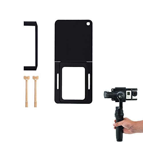 iMusk Action Kamerahalterung Platte Adapter Kompatibel mit OSMO Action Gopro 5 4 3 3 + xiao Yi SJ4000 für DJI Osmo Mobile Zhiyun Handheld Gimbal Kamera Stabilisatoren Zubehör