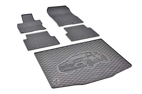 Passgenaue Kofferraumwanne und Gummifußmatten geeignet für Ford Kuga ab 2020