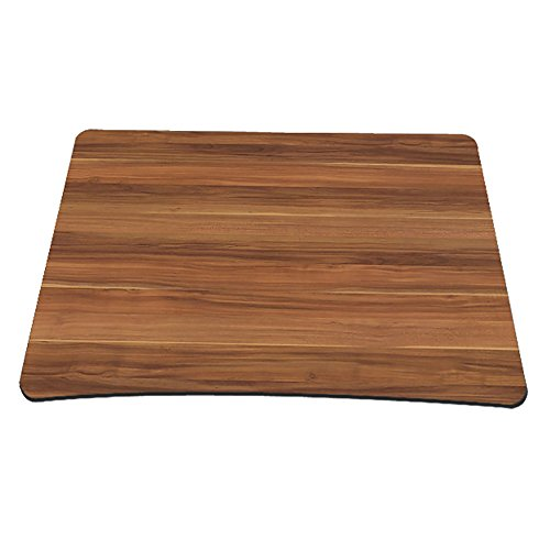 Non-Slip Rubber Base Mousepad for Laptop Computer PC Personality Desings Gaming Mouse Pad Mat 9.45 X 7.87 inch (Wood Grain, 9.45 X 7.87 inch)