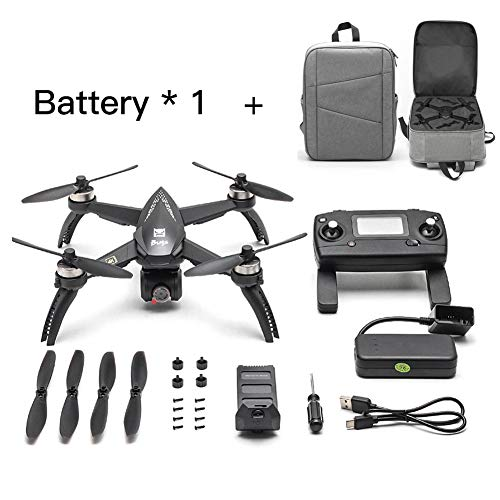 [Aggiornato] 2019 Nuovi bug MJX 5W RC Drone 8G 4K con 2160P Wifi FPV HD Camera-Follow Me, MT2204 2300KV MOTORE BRUSHLESS, MJX RC Quadcopter Drone