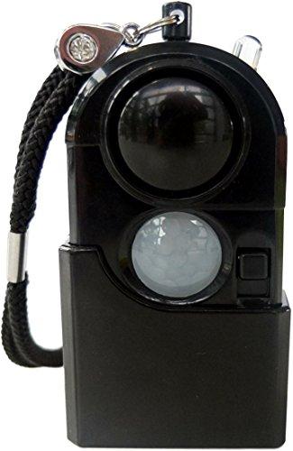 mobiler Mini Alarm mit Licht und Bewegungssensor Alarmanlage Taschenalarmanlage