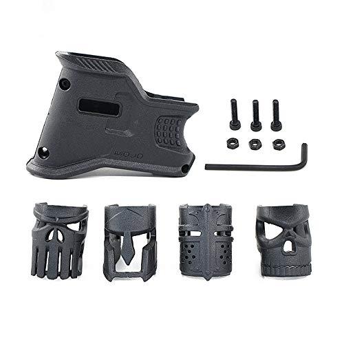 JINGz Mojo Mask Grip Decoration Grip for AR-15 (Black)