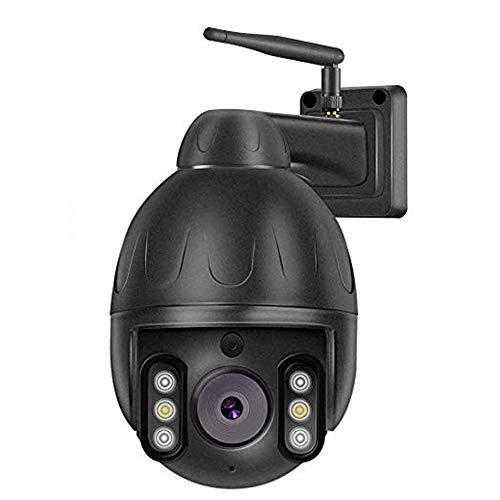 Cámara 1080P IP, WiFi Cámara de Vigilancia FHD, Visión Nocturna, Impermeable, Detección de Movimiento Notificación de Alarmat, Compatible con iOS Android Windows, Audio de 2 Vías