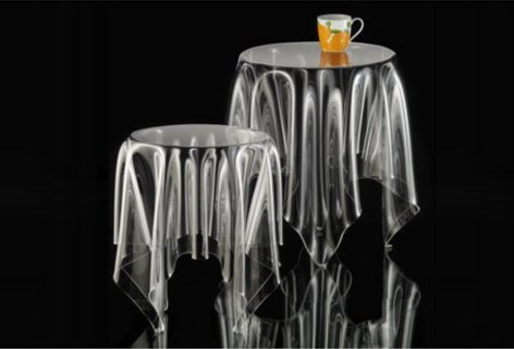 ESSEY Illusion Clear Table Design of Denmark