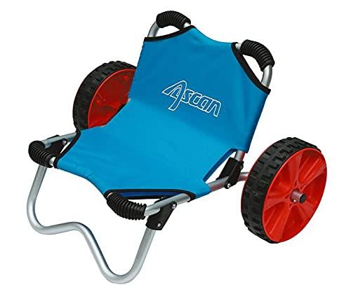 Ascan Beach Cart - Carro de surf, kayak, canoa, barco