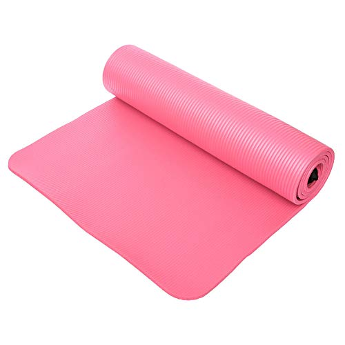 MDHANBK Esterilla de yoga, 10 mm Gimnasio suave Yoga Mats, Espesor antideslizante Yoga Mat,Sport plegable Body Building Fitness Equipment Pad