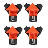 コーナークランプ 木工ロケーター 木工定規 ライトアングルクリップ 直角 90度 60度 120度 多機能 軽量 DIY 工具 持ち運び安い 変形せず 頑丈 耐久 溶接 固定 大工 作業