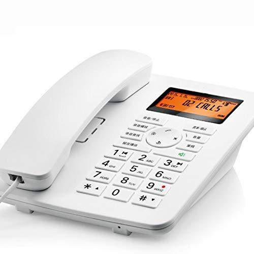 MSNDIAN vaste telefoon voor kantoor, thuis, computer, opnamekaart, telefoon, huishouden