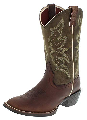 Justin Boots Herren Cowboy Stiefel 2569 EE Westernreitstiefel Lederstiefel Braun 44 EU