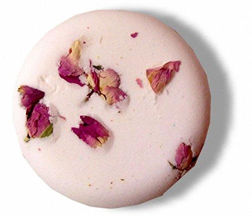 Passion Mode Bombe de bain à gâteaux – 200 gr. Bombe de bain gâteau fait avec rose et Ylang Ylang huiles essentielles. Taille : environ 90 x 30 mm.. un cadeau parfait – Idéal pour les anniversaires, Noël...