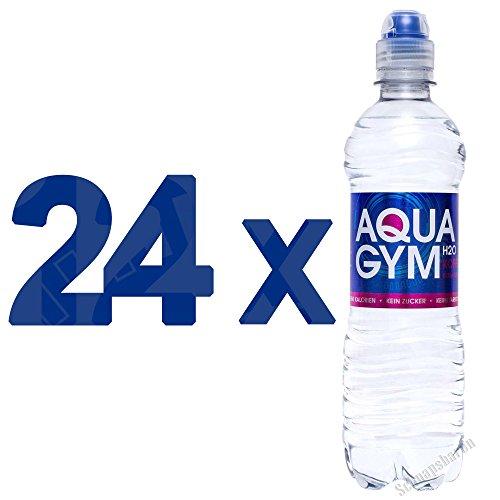 AQUAGYM H2O EXTRA STRONG 24 x 0,5l Erfrischungsgetränk koffeinhaltig und kalorienfrei