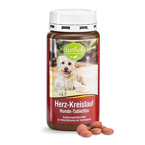 tierlieb Herz-Kreislauf Hunde-Tabletten mit Carnitin und Taurin, Inhalt 180 Tabletten
