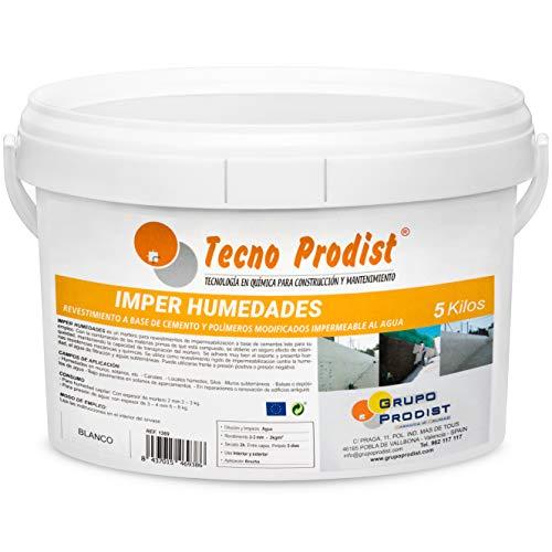 IMPER HUMEDADES de Tecno Prodist - (5 Kg) Mortero para reves
