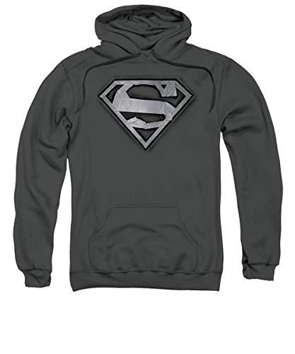 Superman - Sudadera con escudo de cinta adhesiva