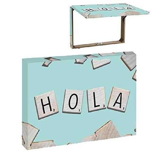 catay home Tapa Contador Hola Decorativas de Ventana Muebles Pegatinas Decoración del hogar, Multicolor (Multicolor), única