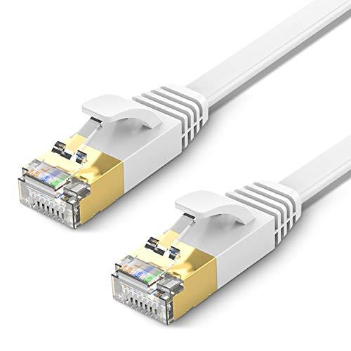 TBMax Cable Ethernet CAT7 de 10 m de largo, cable de Ethernet...