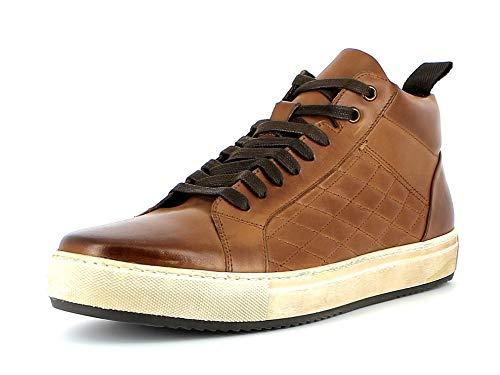 Gordon & Bros. Herren Sneaker Serena A151639, Männer High-Top Sneaker, Maenner maennliche maskulin rustikal robust,Cow Cochin Cognac,43 EU / 9 UK