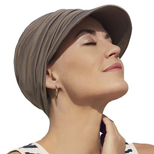 Christine Headwear Gorra oncológica Ultra transpirante Bella con Visera y Technology 37.5® para Mujeres en Tratamiento con quimioterapia