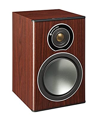 Monitor Audio Bronze 1 Speakers (Pair) (Rosewood mahogany) from MONITOR AUDIO