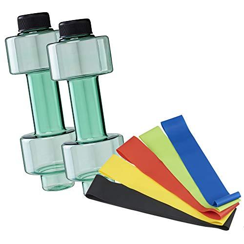 FUN FAN LINE - Pack x2 Botellas mancuerna de Medio Kilo o Ca