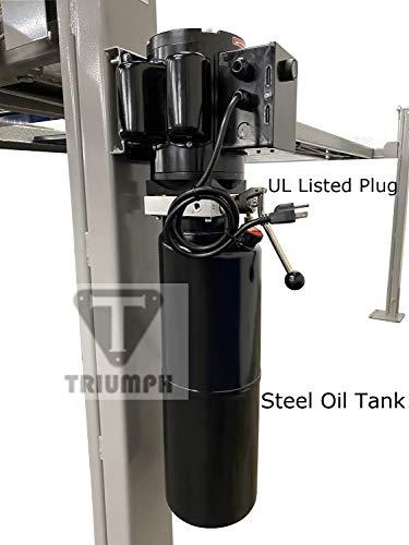 TRIUMPH NSS8TL 8000Lbs Taller Longer 4 Post Storage Service Car Auto Lift Truck Hoist