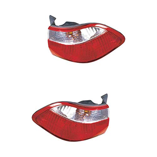 Rückleuchte Heckleuchte Set links & rechts rot W21W W21/5W ohne Lampenträger für Model Accord VI CG CK CH CF8