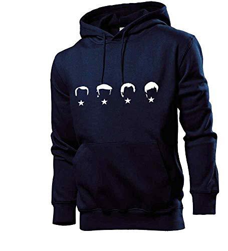 Generisch shirt84.de - Sudadera con capucha para hombre, diseño de Alemania azul marino L