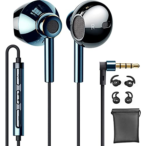 Linklike Quad Dynamic Drivers Air-Flow Hi-Res Extra Bass Headphones Noise...