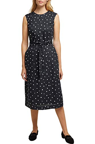 ESPRIT Collection Damen 040EO1E310 Kleid, 003/BLACK 3, 40