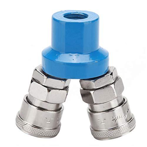 Conector de bomba de aire Instalación conveniente de accesorios rápidos neumáticos tipo C para compresor de aire(Round two-way)