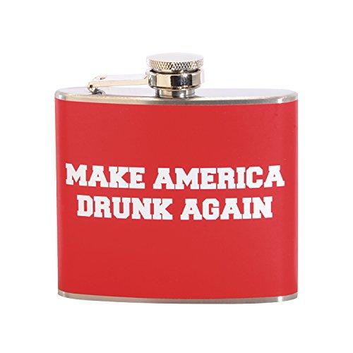 Make America Drunk Again 5 oz. Stainless Steel Flask